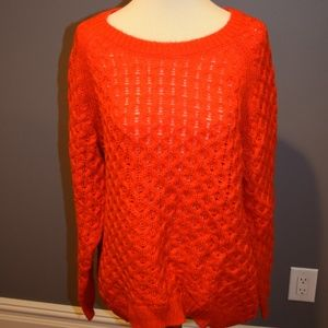 Oversized Orange Sweater
